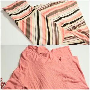Lularoe maxi with matching top